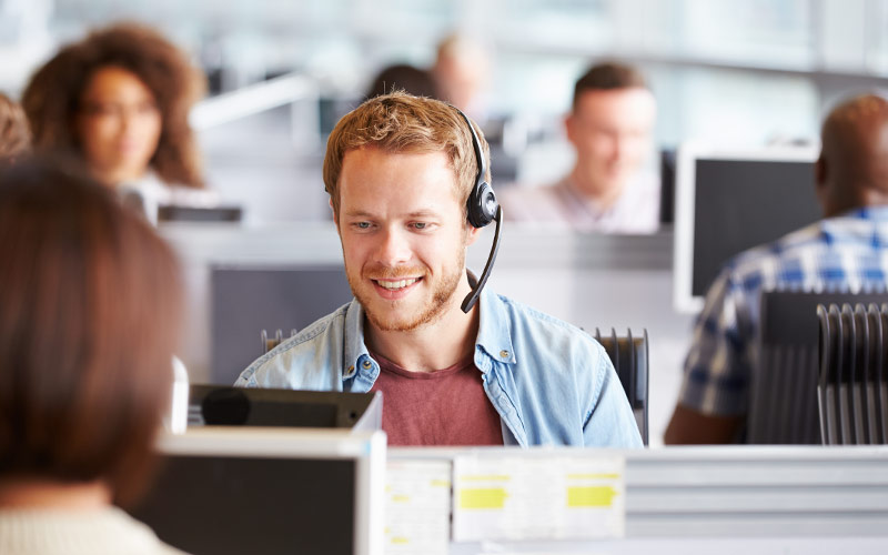 What happens to data security when call center services are outsourced