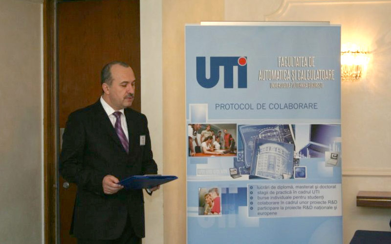 Collaboration between UTI and the Faculty of Automatics and Computing of the Polytechnic University of Bucharest