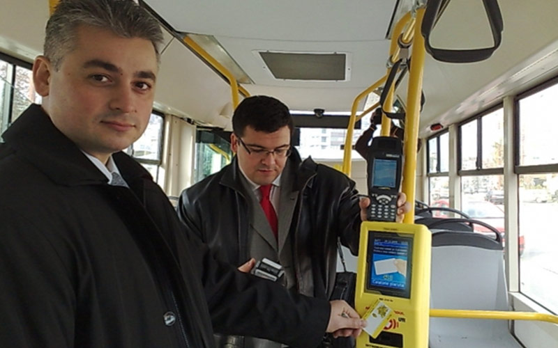 UTI a implementat Sistemul automat de taxare pentru Regia Autonomă de Transport Timişoara