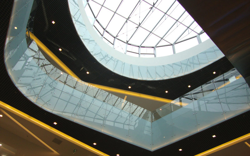 UTI  implemented the fire protection and security systems within Baia Mare Gold Plaza