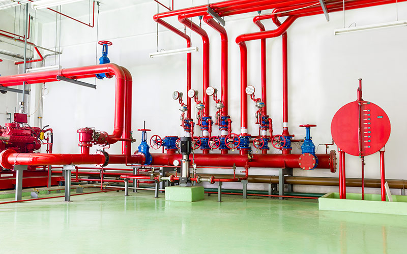 UTI installed a complex fire protection system for the Coca Cola factory in Timisoara
