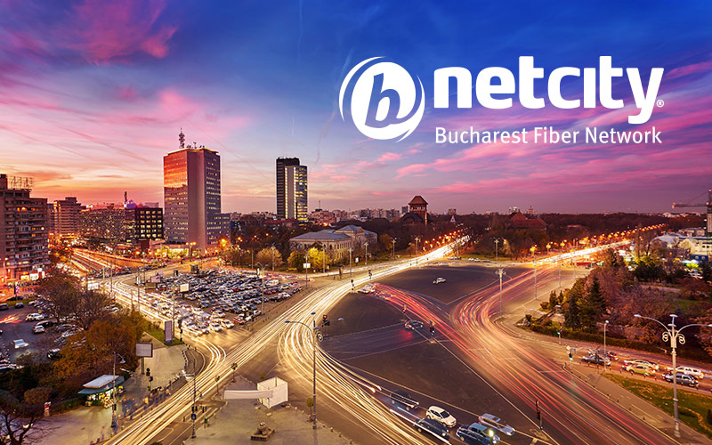 How much did the Bucharest City Hall get by leasing the NetCity network and how does Tiberiu Urdăreanu's company respond to the accusations that it paid too little