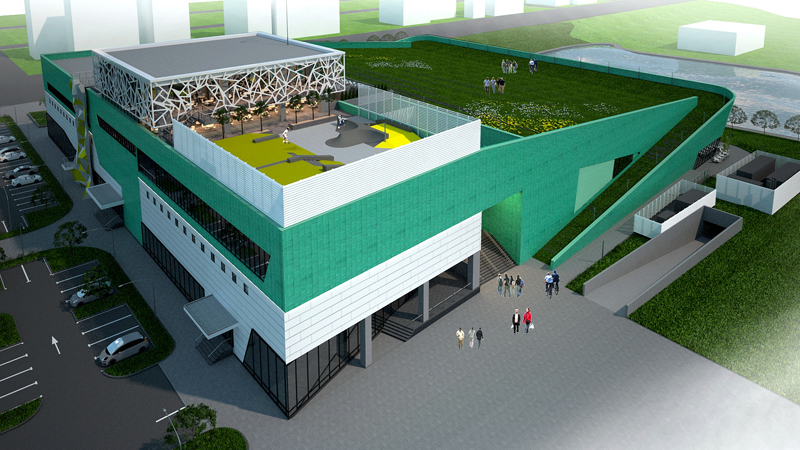 UTI GRUP will build the most modern skating rink in Romania
