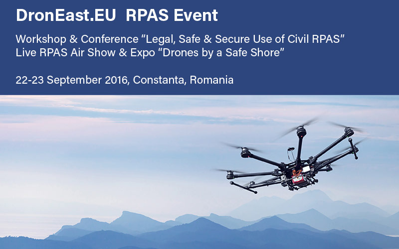 UTI supports the RPAS industry development in Romania and the Eastern Europe