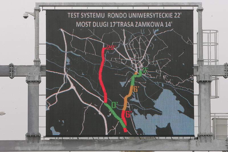 UTI a implementat un sistem de management adaptiv al traficului în Szczecin, Polonia