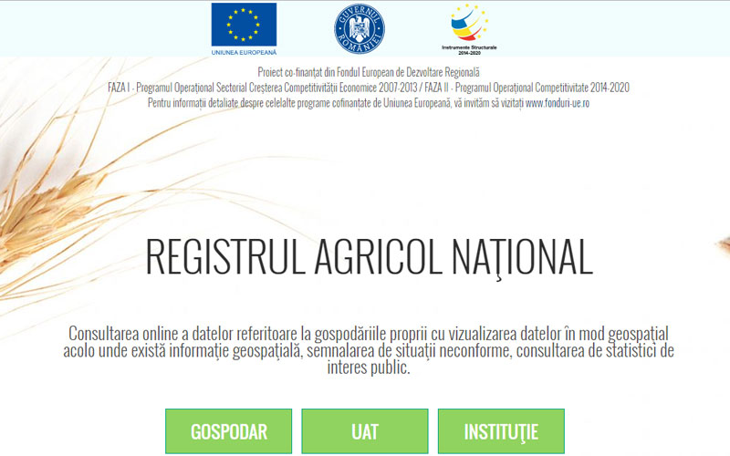 The Agricultural Informatics System is functional and mandatory. Who introduces the data and who risks to be fined