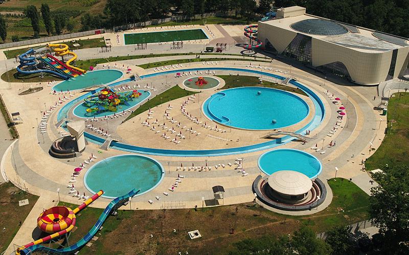 UTI  finalizează lucrările la Water Park din Craiova