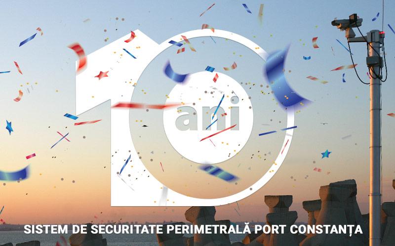 Se împlinesc 10 ani de la punerea în funcțiune a Sistemului de Securitate Perimetrală a Portului Constanța
