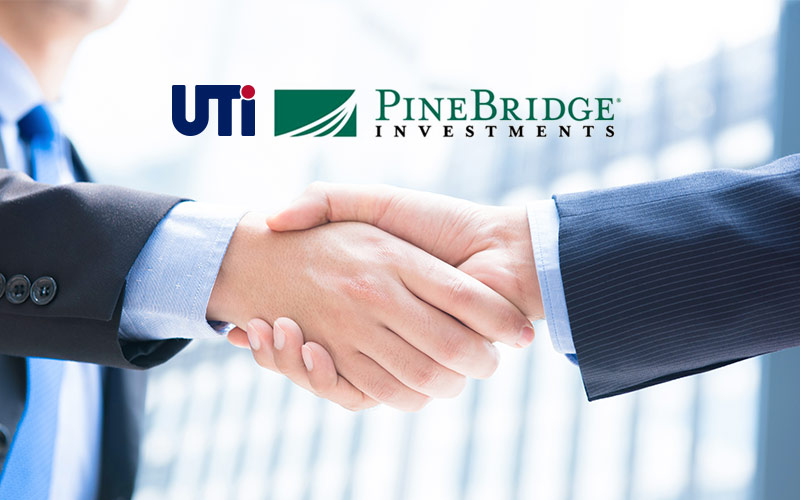 UTI buys back the shares from PineBridge Investments.