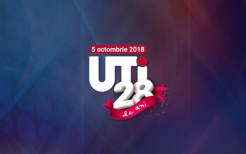UTI sărbătorește 28 de ani de prezență continuă pe piața din România