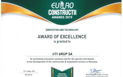 UTI GRUP has been awarded the Euro Construcții 2019 trophy