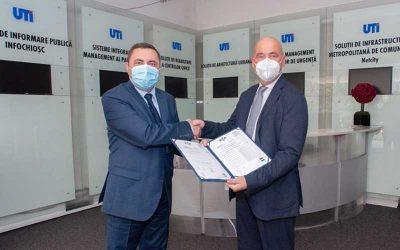 UTI FACILITY MANAGEMENT a obținut certificarea BIOSAFETY TRUST CERTIFICATION acordată de RINA Organismul de Certificare