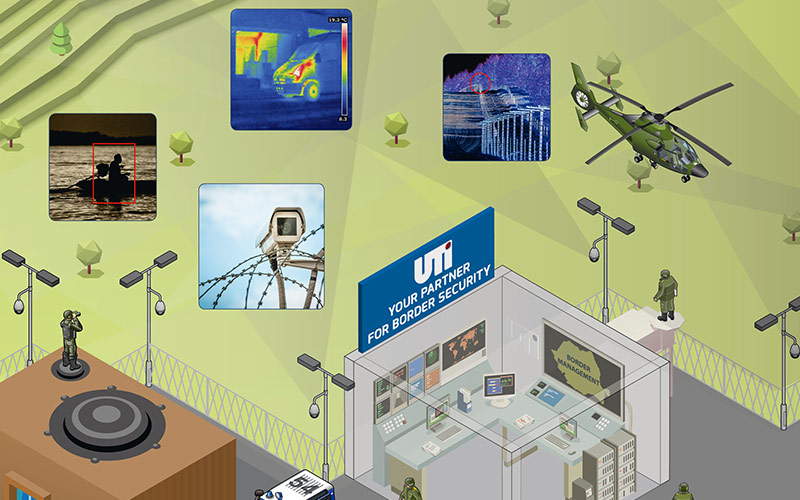 UTI presents its border security solutions in Bulgaria