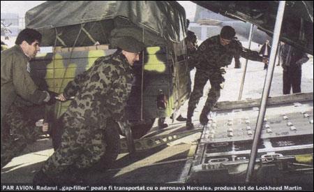 Radare americane fabricate în România